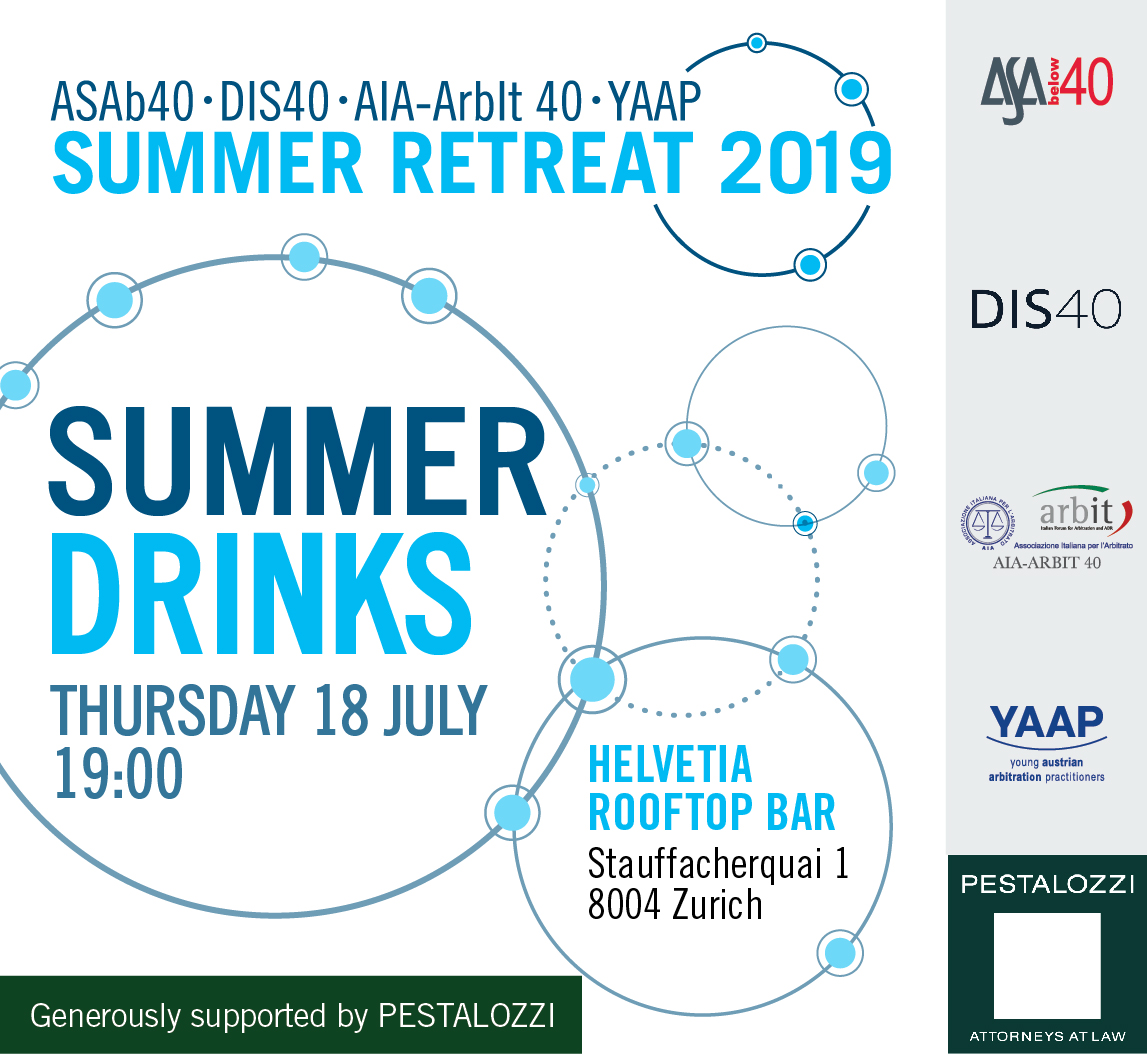 2019 Summer Retreat DRINKS 2019 01